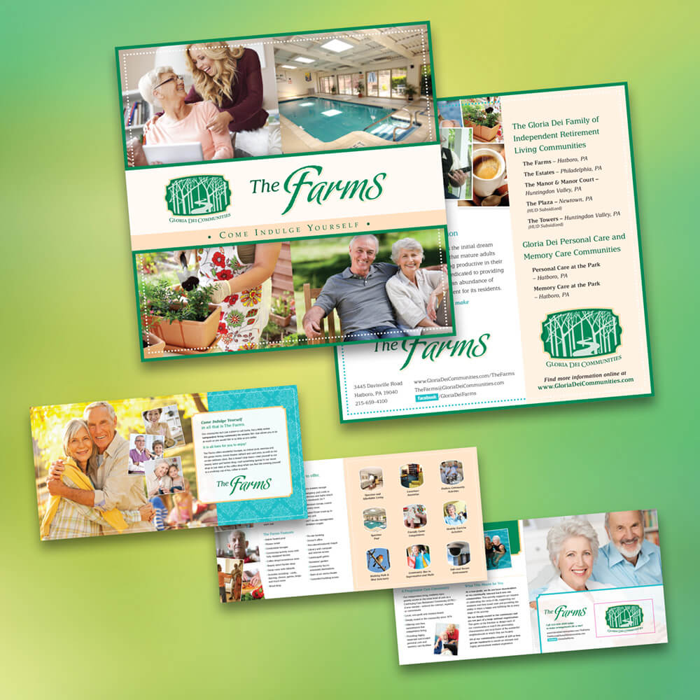 Brochure Design - Inertia Marketing + Design